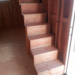 assembled stairs